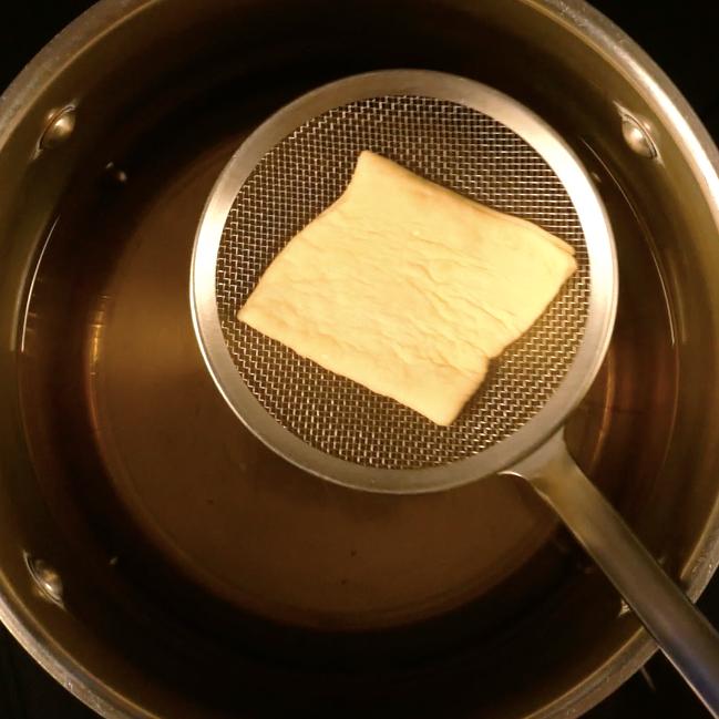7. Friggere in olio da frittura o strutto